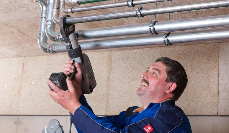 Sie benötigen Unterstützung in der Anlagenmechanik für Sanitär-, Heizungs- und Klimatechnik?