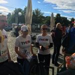 THORianer nehmen beim RUN Unternehmenslauf in Erfurt, im Juni 2017, teil.