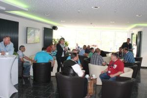 """In der THOR-Akademie in Menteroda, im Unstrut Hainich Kreis, fand das erste THOR-Forum """"Zukunft"""" statt. Eingeladen waren circa 50 Monteure aller Gewerke."""