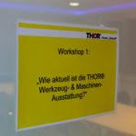 """In der Akademie für Aus- und Weiterbildung in Menteroda fand das erste THOR-Forum """"Zukunft"""" statt. Vier Workshops durchliefen die Monteure."""