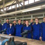 Zehn junge Männer beginnen Ausbildung bei Firma THOR. In der THOR-Akademie in Menteroda wird der praktische Teil der Ausbildung zum Anlagenmechaniker SHK zunächst stattfinden.