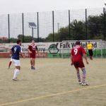 Monteure, Azubis und Disponenten von THOR Industriemontagen spielten gegen andere Firmen beim Neunspringer Fußball-Cup 2017 in Birkungen.
