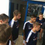 Für THOR Industriemontagen traten sowohl die Lehrlinge, die zukünftig als Anlagenmechaniker SHK arbeiten wollen, als auch Mitarbeiter von THOR aus der Disposition und dem Handwerk beim Neunspringer Fußball-Firmencup 2017 im Eichsfeld an.