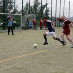 Kollegen von THOR Industriemontagen spielen gemeinsam Fußball in Birkungen und erzielen den 7. Platz beim Kleinfeld-Turnier.