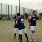Freude bei den THORianern: Die Azubis, Monteure und Disponenten von THOR Industriemontagen nahmen beim Fußball-Firmencup in Birkungen 2017 teil.