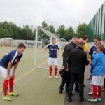 Die Lehrlinge von THOR Industriemontagen engagieren sich auch nach Feierabend für ihre Firma. Gemeinsam nahmen sie bei Fußballturnier in Birkungen teil.