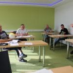 Deutschkurs von THOR Industriemontagen in Menteroda mit polnischen Monteuren