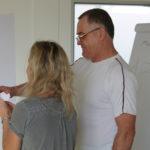 In der THOR-Akademie in Menteroda nehmen polnische Mitarbeiter an einem Sprachkurs teil.
