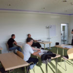 Polnische Monteure erlernen und vertiefen in der THOR-Akademie in Menteroda die deutsche Sprache.