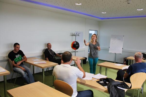 Deutsch lernen in der THOR-Akademie