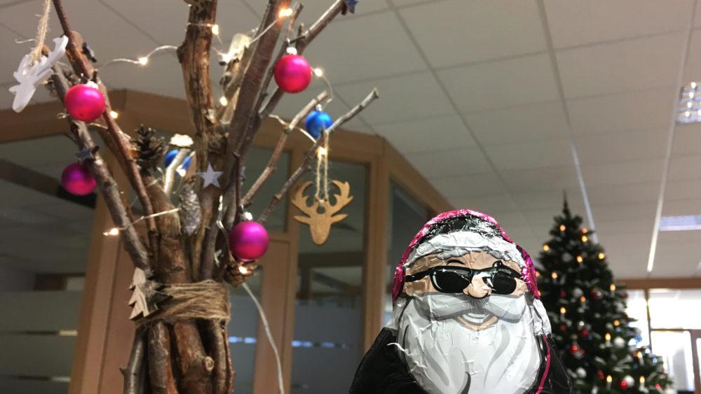 Weihnachten in Leinefelde (Eichsfeld) bei THOR Industriemontagen