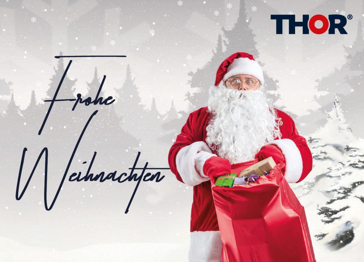 Weihnachtsgrüße von THOR Industriemontagen