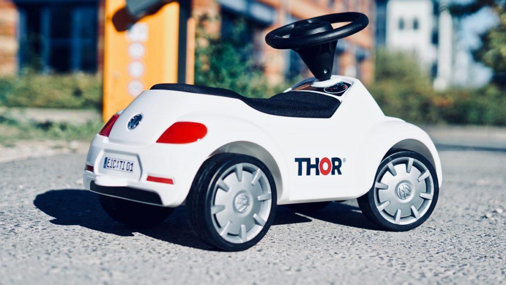 MIni-Firmenwagen von THOR zu gewinnen.