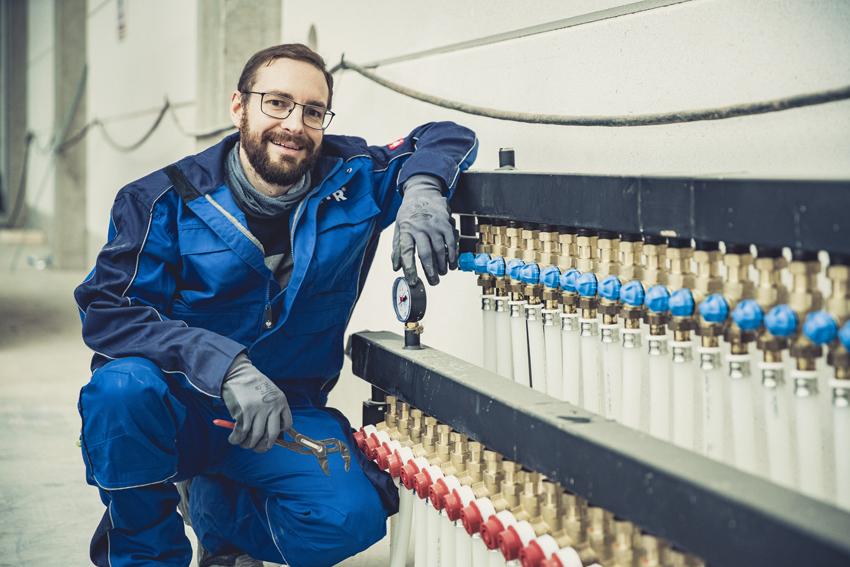 Heizungs- und Sanitärtechnik ist ein Gewerk bei THOR Industriemontagen