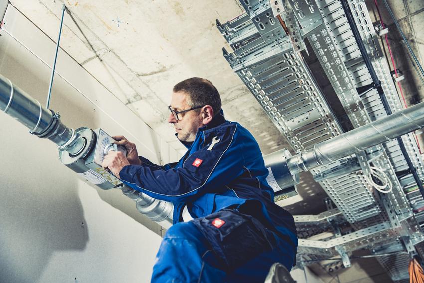 Monteure der Lüftungstechnik unterstützen Ihr Bauvorhaben in ganz Deutschland.